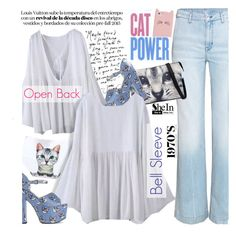 """""""For the cats lovers"""" by ansev ❤ liked on Polyvore featuring moda, H&M, Kate Spade, Markus Lupfer, Sheinside y shein"""
