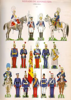 Military Art, Military Uniforms, Army History, Men In Uniform, Spanish, Empire, Pictures, Warriors, News