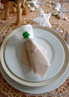 decoracion mesa Reyes Magos decoracion servilleta