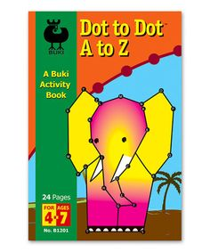 Look what I found on #zulily! A to Z Dot-to-Dot Activity Book Paperback #zulilyfinds