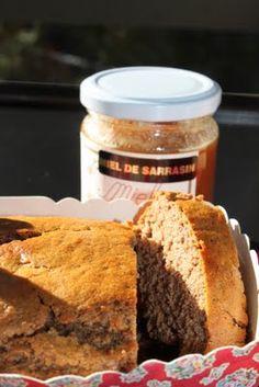 Petit cake à la châtaigne, miel de sarrasin & fleur de sel