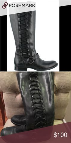 ❤️ Born Stella Boots Gorgeous boots!  Minor scuffing!  Good condition! Born Shoes