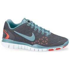 Nike Free TR Fit 2 Sneakers ($95) ❤ liked on Polyvore featuring shoes, sneakers, nike, sports shoes, nike sneakers, nike trainers and flexible shoes