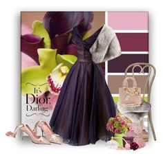 """""""1950's Dior"""" by ollie-and-me ❤ liked on Polyvore featuring Tocca"""