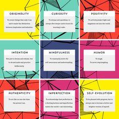 9 Core Values / Made Vibrant