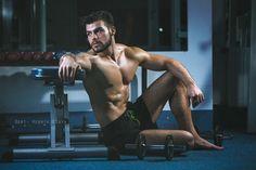 Fitness Model Ali Chaer
