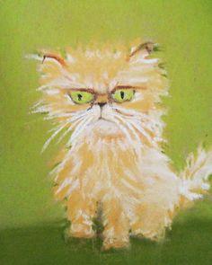 Cat Paintings, Artist Signatures, Paper Frames, Contemporary Artists, Austria, Original Art, Kitty, Art Prints, Portrait