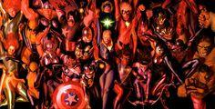 La gran saga Marvel, un repaso por la extensa historia río de Marvel Comics en sus sesenta y siete años de historia, desde su fundación a la actualidad