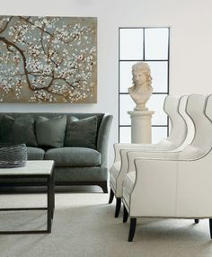 Bernhardt | Kingston Wing Chair (N1712).  Like couch too