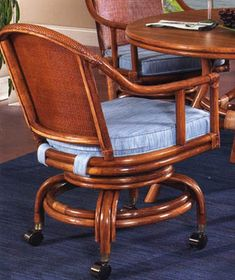 1000 Images About Caster Chairs On Pinterest Rattan Wicker And Chairs