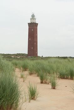 """Lighthouse """"Westhoofd"""" (56m), Ouddorp (NL) by evb-photography, via Flickr"""