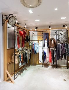 convert a small room into a walk in industrial look closet. Great for the man of the house! #pipe #closet #organize