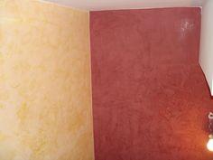 Pinturas Decorativas En Paredes Estucos En Dos Tonos