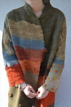 Nuno felt coat by Ia Gulisashvili.