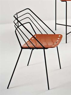 'Kyoto' chair by Mathieu Mategot, 1954
