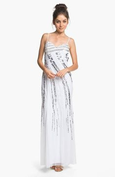 Sean Collection Embellished Chiffon Gown (Online Exclusive) | Nordstrom