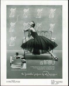 Tulle Dress-Tabu ad