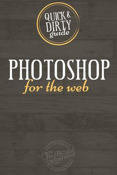 Guide to Using Photoshop to Create Kickass Images   This post is busting the myth that using Photoshop to create images is impossible for a DIYer, and breaking down a step-by-step tutorial on exactly how to create a blog image template in Photoshop, even if you have no design experience and/or have never used a fancy image creation tool before.