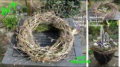 DIY: Frühlings deko: Kranz binden mit Zweige schnell & einfach I krans m...