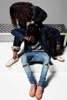 Travis Scott and Rihanna for Puma