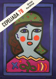 Cepeliada 78 Graphic Design Posters, Graphic Design Inspiration, Graphic Art, Polish Posters, Polish Folk Art, Japanese Poster, Original Movie Posters, Festival Posters, Advertising Poster