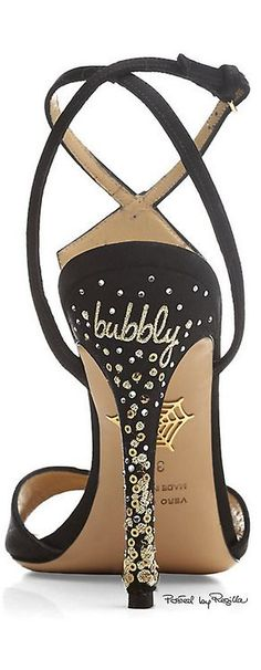 Regilla ⚜ Charlotte Olympia  Happy New Year Fellow pinners. May the pin be with you always!