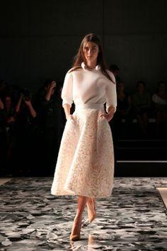 Maticevski - FOUREYES - New Zealand Street Style Fashion Blog: MBFWA 2014 - DAY TWO