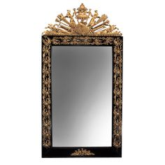 An Unusual Swedish Neoclassical Mirror