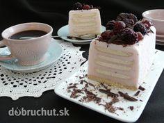 Fotorecept: Malinový dezert