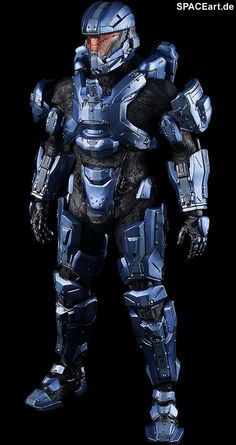 Halo: UNSC Spartan Gabriel Thorne, Voll bewegliche Deluxe-Figur… Halo Cosplay, Sci Fi Armor, Sci Fi Weapons, Gabriel, Combat Suit, Halo Spartan, Halo Armor, Halo Master Chief, Halo Collection