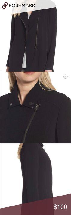 NORDSTROM Moto Style Jacket NWOT. Washed but never worn. Lightweight moto Style Jacket. Nordstrom Jackets & Coats