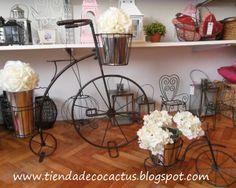 Variedad de bicicletas y triciclos decorativos: Tienda Deco C