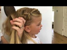 Little Girls Hair Tutorial (Elsa Braid) -- Milo - YouTube
