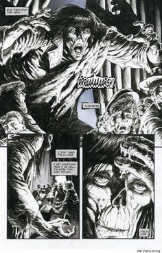 Bernie Wrightson Returns to 'Frankenstein' with Steve Niles in 'Alive, Alive!'    Read More: http://www.comicsalliance.com/2012/05/08/bernie-wrightson-frankenstein-sequel-alive-alive-steve-niles-preview/#ixzz1uJ2KYzjO