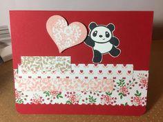 My Creative Side: Panda Pop Up Card
