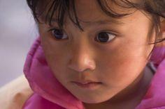 Small girl at a tsechu | Bhutanese women | Bhutan