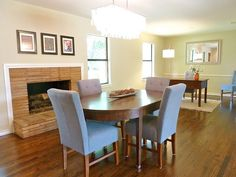 Finished Flip Photos: The Dining Room, Office and Den! by It's Great To Be Home, via Flickr