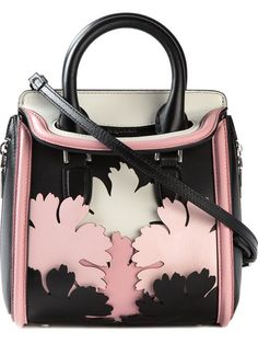 Shop Alexander McQueen mini 'Heroine' lotus flower applique tote in Julian Fashion from the world's best independent boutiques at farfetch.com. Over 1500 brands from 300 boutiques in one website.