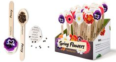 Conceptualized innovative seed packaging in collaboration with an industrial technology team. Developed Seedspoon brand and logotype, designed graphics for product,