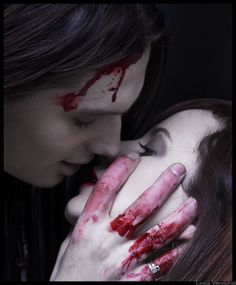 romantic vampire pictures | Blood And Sex (Vampire's Kiss Maybe) Blood and Sex - Page 1 - Wattpad