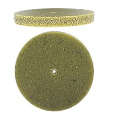 AdvantEdge Pumice Wheel Medium Flat edge:  For polishing/smoothing heavy wall bezels