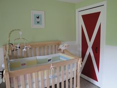 Farm Animal Nursery Barn Closet Door This Is So Perfect Have To See