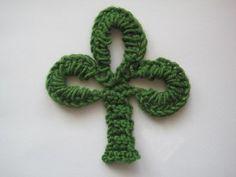 Crochet Pattern: Simple Shamrock