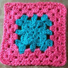 How to Crochet Granny Squares: 28 Stunning Summer Crochet Granny Square Patterns   AllFreeCrochetAfghanPatterns.com