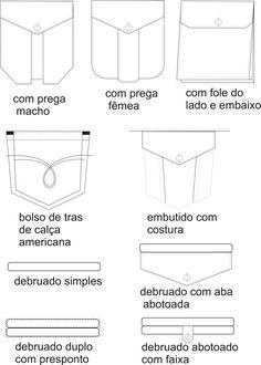 desenho técnico shorts - Pesquisa Google
