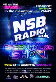 "#LIVE#SaturDays #UK #LiftOff  WITH #DJ @ALASKAMC #DJ @tekneekgeek #BassOholics #WarmUpShow @NSBRadio #BST 17-19:00 Tune in & come join the ""chat""!!! http://nsbradio.co.uk/content/"