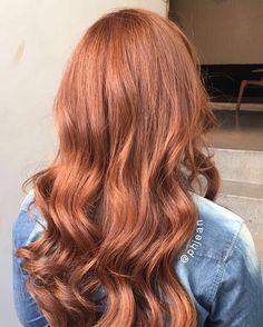 Projeto Along Hair – Recupere em 30 dias Ginger Hair Color, Hair Color And Cut, Hair Color Auburn, Auburn Hair, Hair Inspo, Hair Inspiration, Copper Hair, Spring Hairstyles, Hair Photo