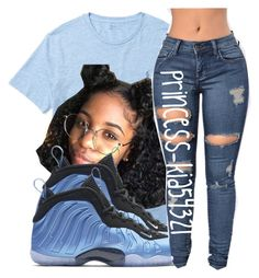"""8/5/16"" by princess-kia54321 ❤ liked on Polyvore featuring Ralph Lauren and NIKE"