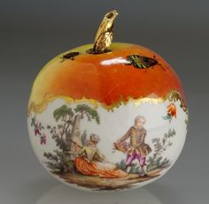Meissen Perfume Bottle, ca. 1760.