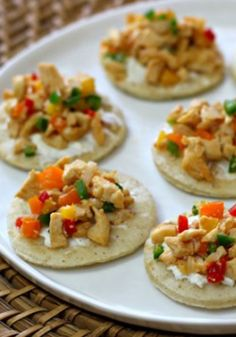 Flatbread Chicken Bites-Try serving these delicious Flatbread Chicken Bites as an appetizer to kick off a great night of soccer and entertainment with your friends.